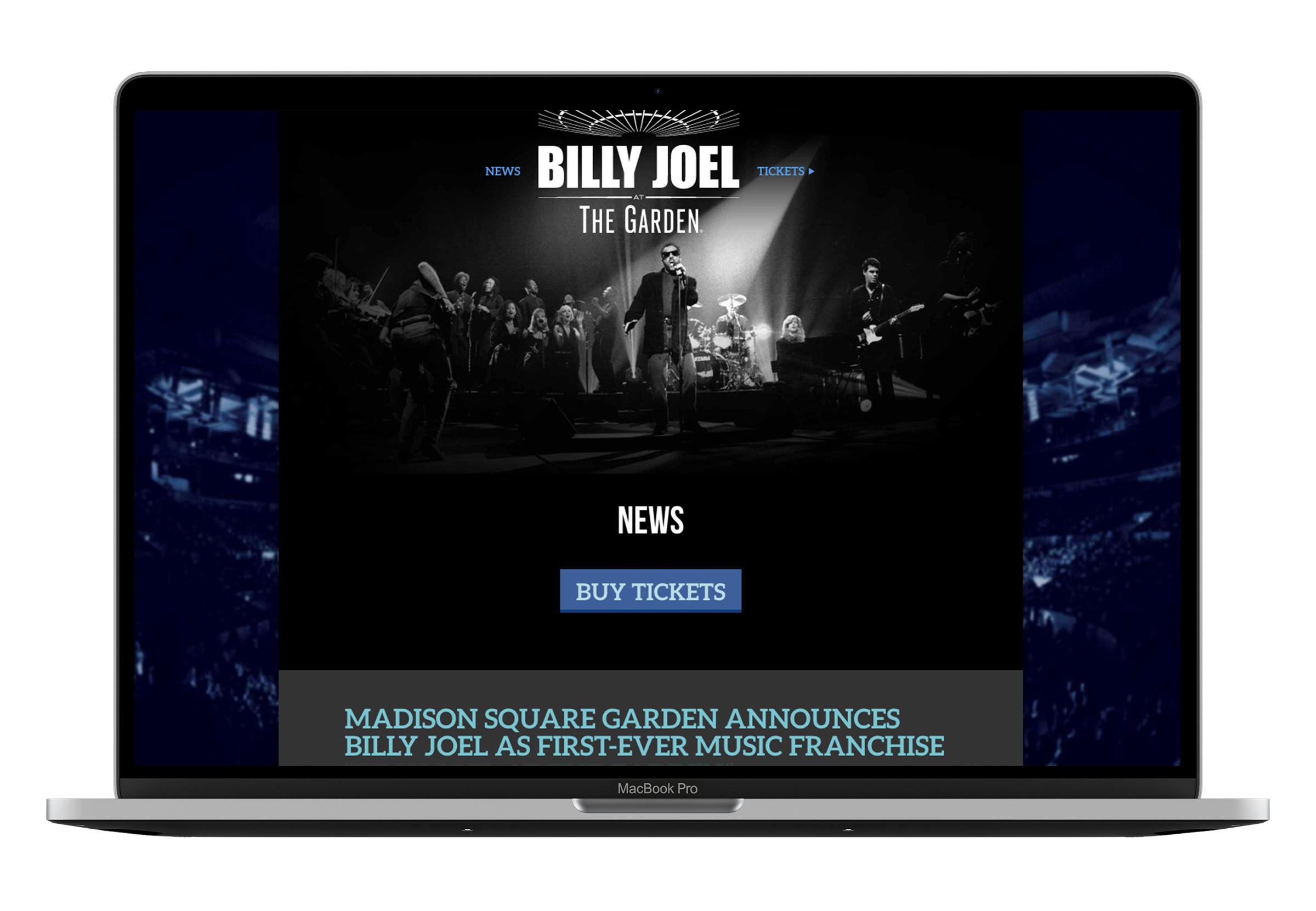 Billy joel at MSG News