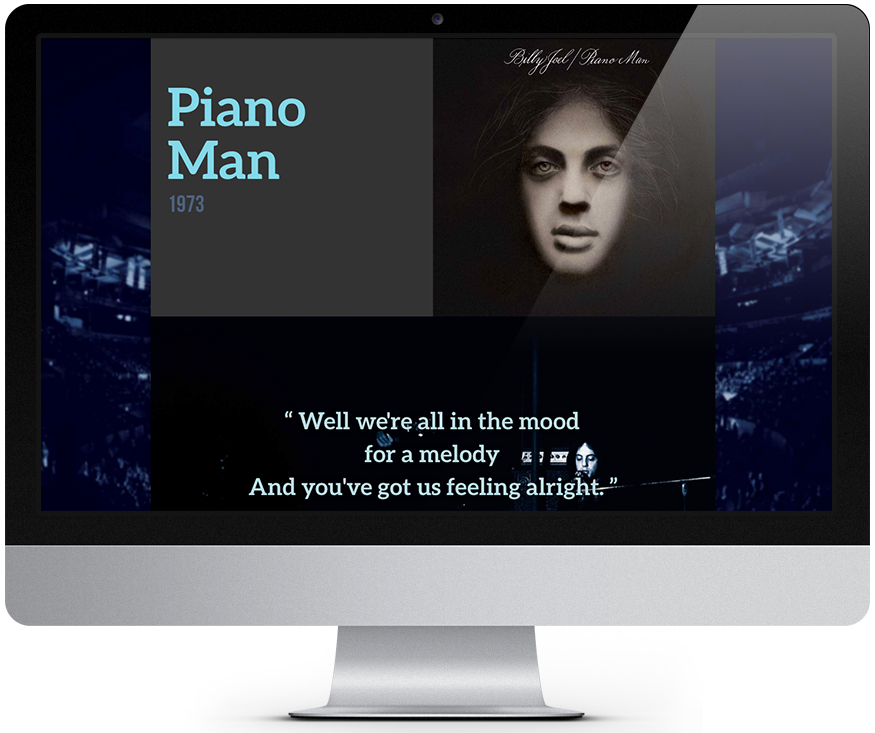 Piano Man Detail