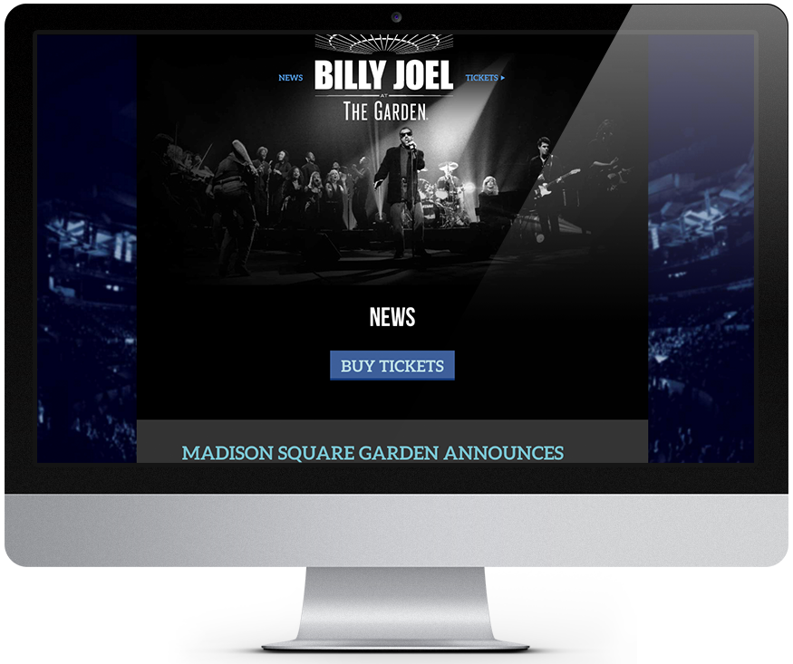 Billy joel at MSG News